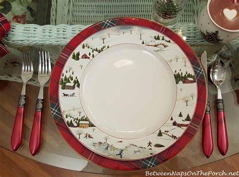 christmas table setting  villeroy boch toys delight david carter brown christmas valley
