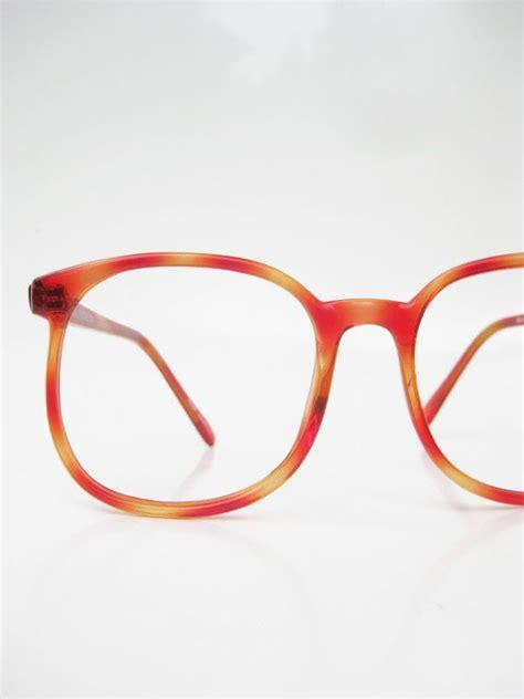 light tortoise shell glasses 1970s tortoiseshell oversized eyeglasses 70s glasses light