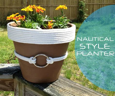 Nautical Planters by 301 Moved Permanently