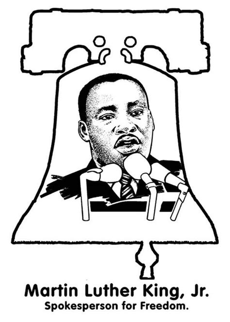 martin luther king coloring pages free coloring home