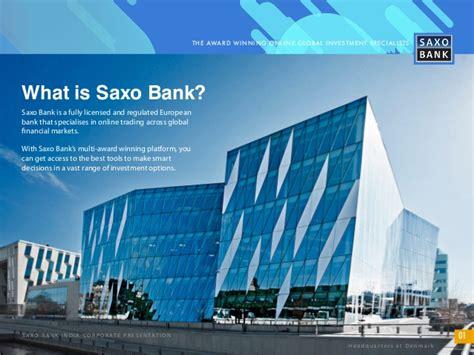 saxo bank india about saxo bank