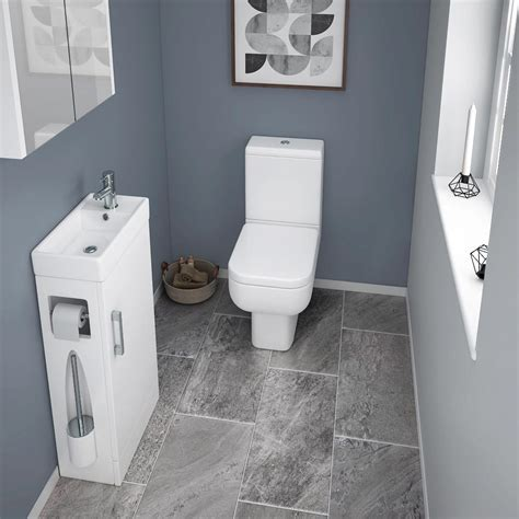 compact bathrooms 10 cloakroom bathroom design ideas by victorian plumbing