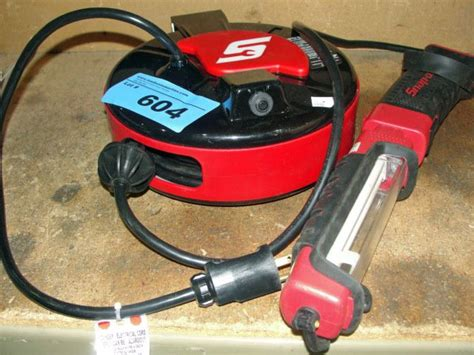 Snap On Retractable Power Cord With Work Light