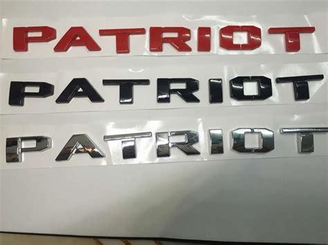 Jeep Patriot Stickers Popular Jeep Patriot Emblem Buy Cheap Jeep Patriot Emblem