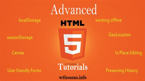 tutorial html advanced advanced html5 tutorials client side offline