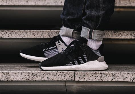 Bait X Adidas Eqt Support 93 17 Black bait adidas eqt support 93 16 ultra boost glow in the sneakernews