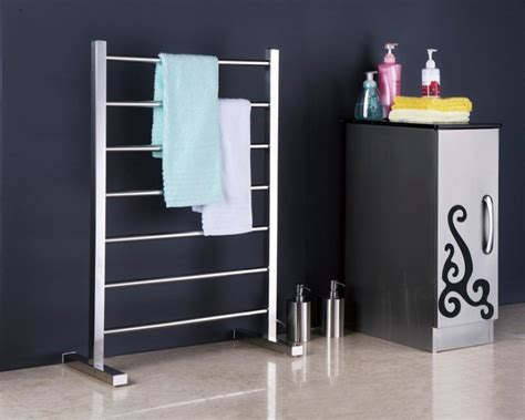 free standing electric towel rails for bathrooms free standing towel warmer electric heated towel rail