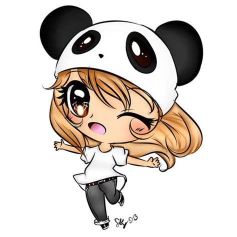 imagenes kawaii anime chibi panda chibi d soo kawaii we heart it chibi cute