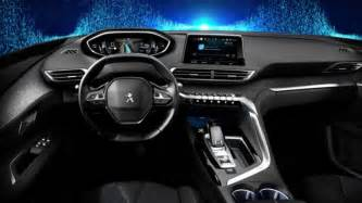 Peugeot 3008 Interior 2017 Peugeot 3008 Official Interior Pics Leaked
