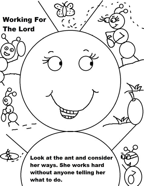 coloring pages for sunday school labor day sunday school lesson