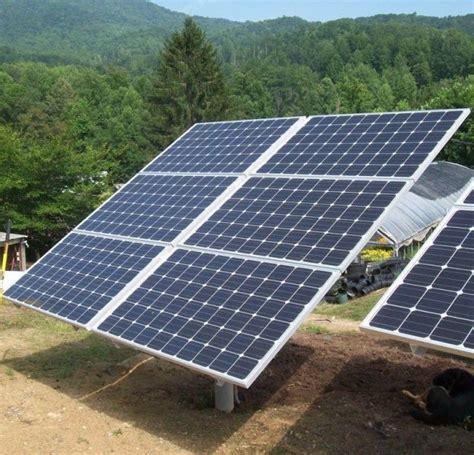 highest wattage solar panel solarnomics 6 panel free standing single pole mount 1 5kw