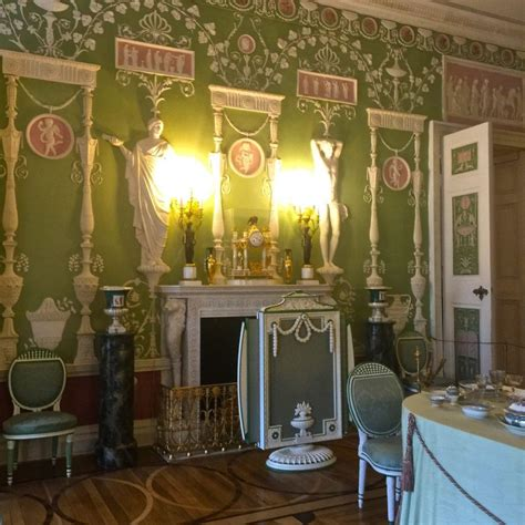Green Dining Room Catherine Palace The Summer Palace Of Catherine The Great