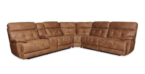 Albany Sectional Sofa 3132 Power Reclining Sectional Sofa Saddle By Albany W Options