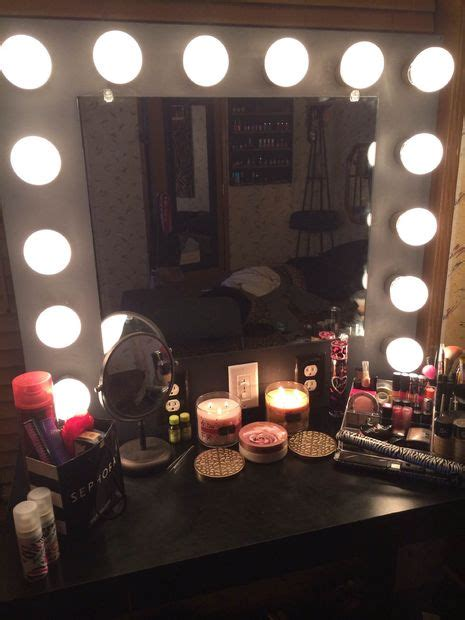 vanity mirror with lights 9 steps