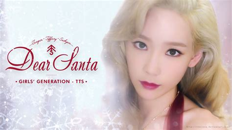 Photocard Taeyeon Dear Santa taeyeon dear santa wallpaper by rizzie23 on deviantart