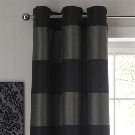 black stripe curtains style for paris room colours by b amelie cross stripe