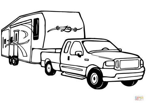 box truck coloring page printable coloring pages trucks toyota tacoma coloring