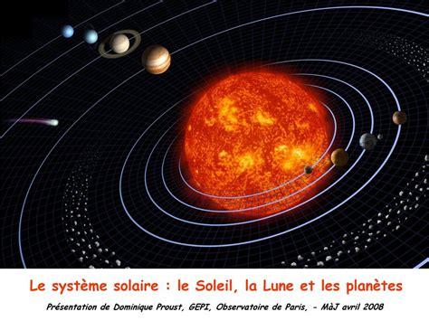 la lune et le le syst 232 me solaire le soleil la lune et les plan 232 tes ppt t 233 l 233 charger