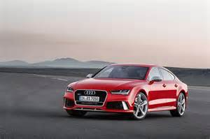 Audi Rs Seven 2015 Audi Rs 7 Sportback Gets Facelift With Matrix Led