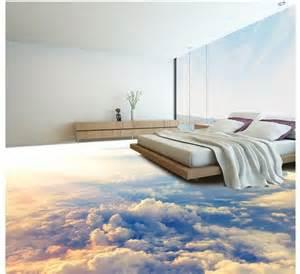 wallpaper for home custom photo floor wallpaper 3d stereoscopic 3d clouds floor 3d mural pvc wallpaper self