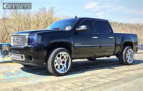 2012 gmc lift kit 2012 gmc 1500 fuel forged ff14 country
