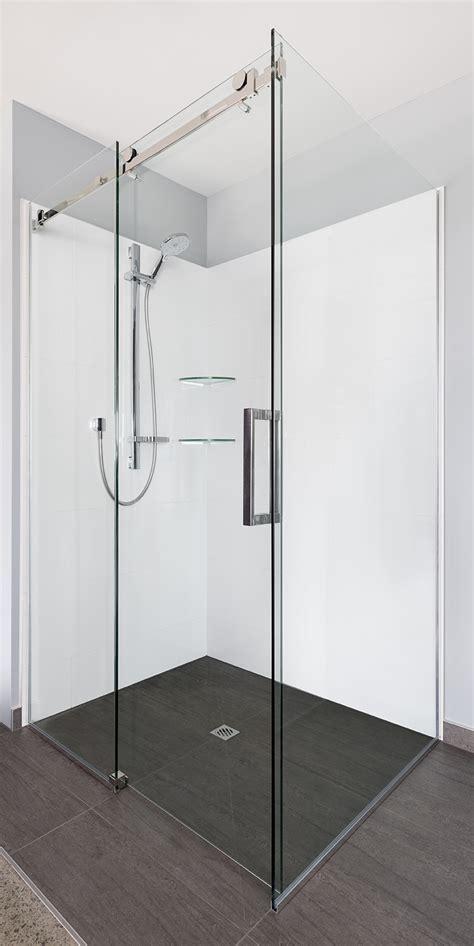 Solid Glass Shower Doors Showerman 187 Solid Glass Frameless Doors