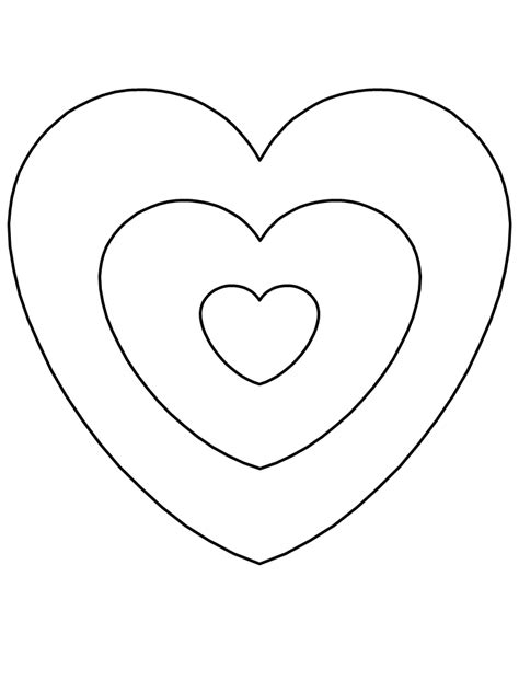 hearts valentines coloring pages coloring book