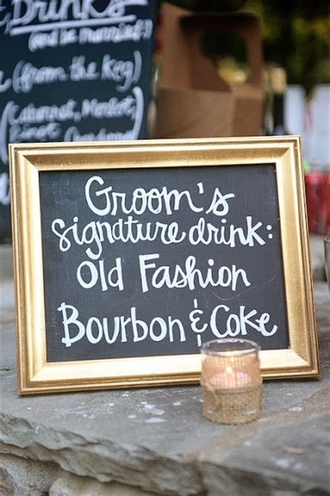 groom signature drink kiawah weddings pinterest