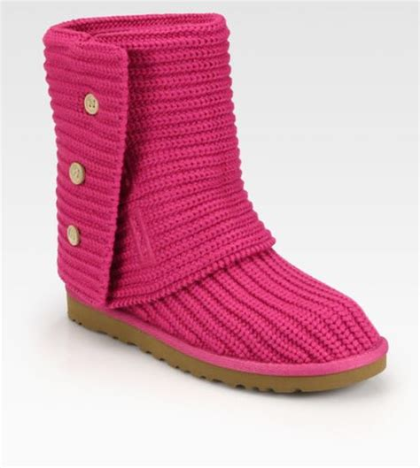 Ugg Classic Cardy Boots 5819 Pink Outlet Stores Uggs Cardy Pink