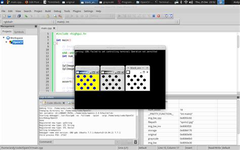 themes download code blocks configure code blocks to use opencv in linux environments