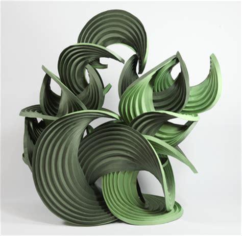 Erik Demaine Origami - 9 curved paper 171 helen hiebert studio