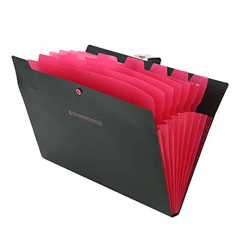 Wedding Organizer File Folder by Skydue Portable Accordion Document File Folders Expanding