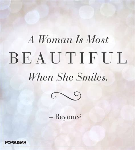 Beautiful Quotes Smile You Re Beautiful Womanly Advice
