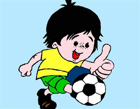 dibujos de niños jugando futball image gallery jugar deportes