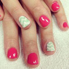 imagenes de uñas acrilicas gelish chevron gelish