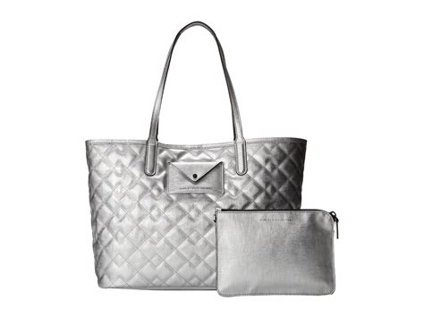Marc Large Quilted Tote by Marc By Marc Metropolitote Quilted Metallic Tote 48