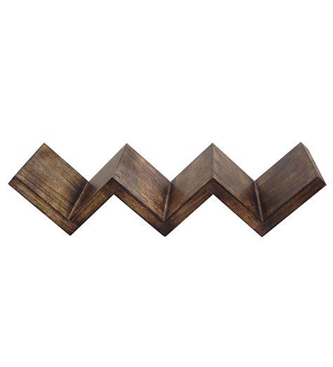 Zig Zag Wall Shelf by Saaga Zig Zag Wall Shelf By Saaga Wall Shelves
