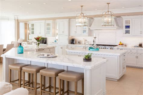 kitchens with two islands beige kitchen island quicua com