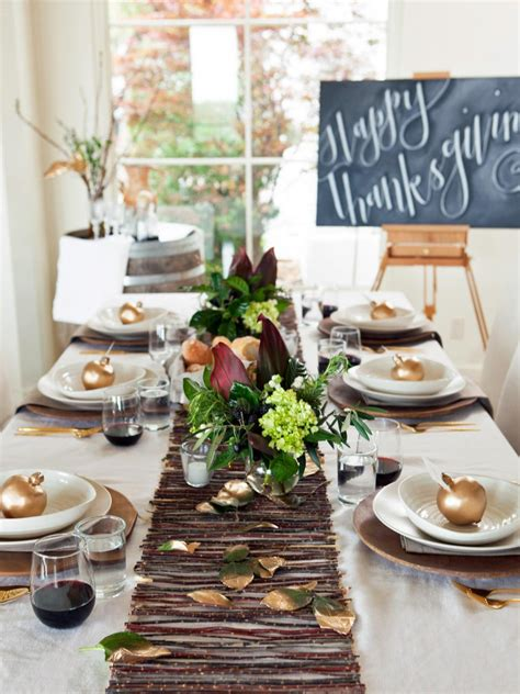 dinner table decor gorgeous dining table fall decor ideas for every special day in your life