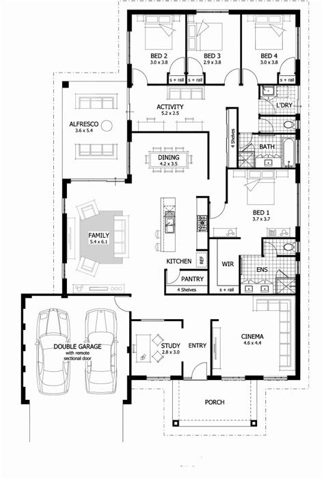 luxury plans 4 bedroom apartments luxury apartment floor plans 4bedroom