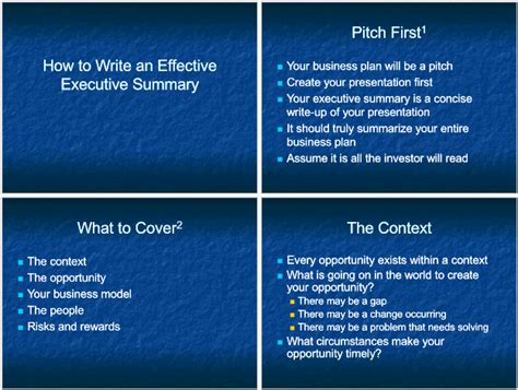 executive powerpoint templates 5 executive summary templates for word pdf and ppt