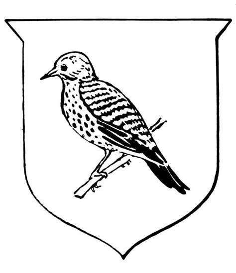 indiana state bird coloring page 92 coloring page of alabama state bird west