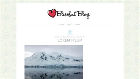 free blogger templates for graphic designers blissful blog blogger template btemplates