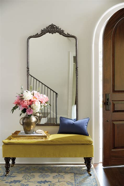 entryway mirror 10 ways to fill a blank wall how to decorate