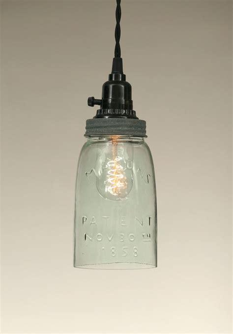 Jar Pendant Light Make A Pretty Jar Pendant Light Jar Crafts
