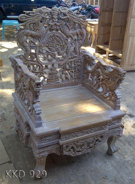 Kerajinan Ukir Kayu Jam Kapal Kerajinan Ukiran Souvenir Kayu kursi mewah ukir naga central furniture jepara