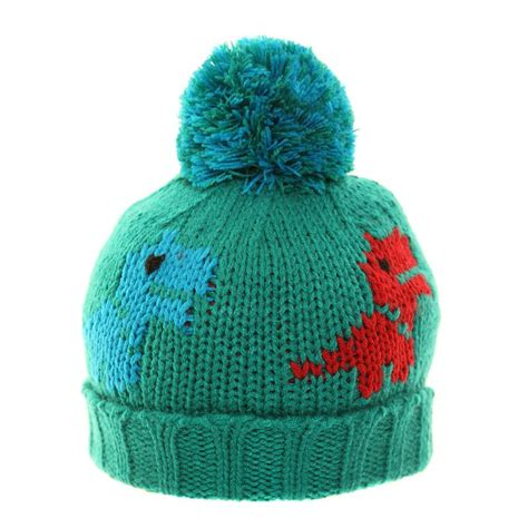 dinosaur knit hat b228 boys chunky knit dinosaur ski hat ssp hats