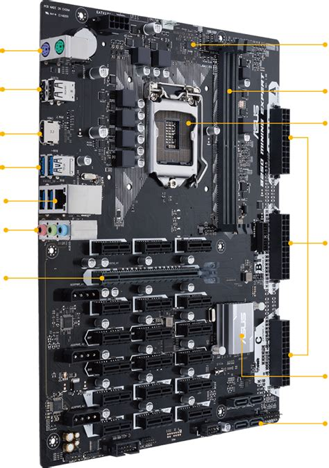 Motherboard Mobo Mining Rig P35 b250 mining expert motherboards asus usa
