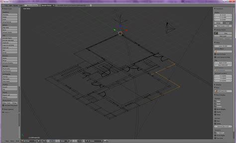 dwg format blender importing 2d cad files as modeling reference blender mama