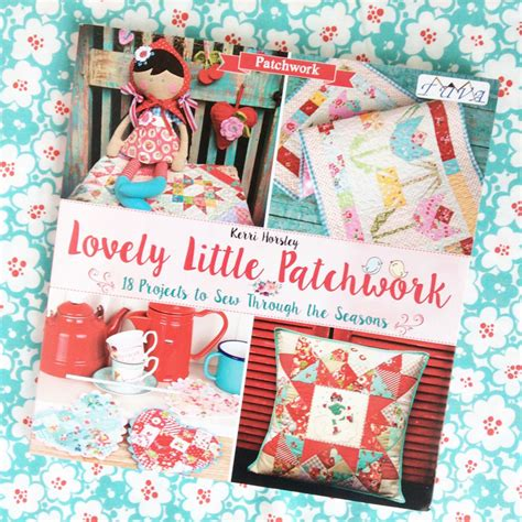 Patchwork Books - clover violet lovely patchwork book review